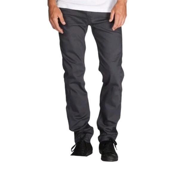 3079f46b589 Levi's Jeans | Levis Mens 508 Regular Taper Fit Grey Black | Poshmark